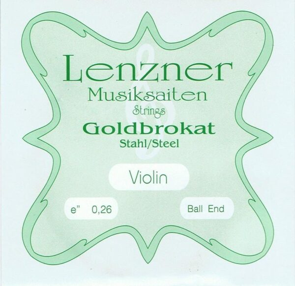 Optima (Lenzner) Goldbrokat Violin E string