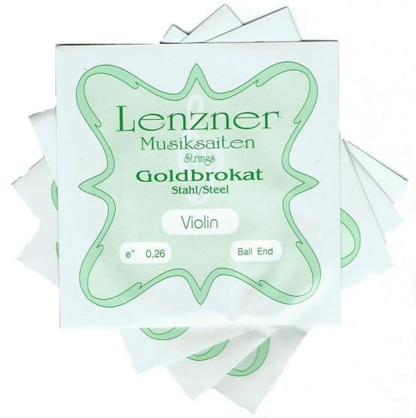 Optima (Lenzner) Goldbrokat Violin string set