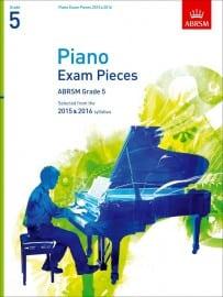 ABRSM Grade 5 Piano Exam Pieces 2015 & 2016