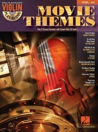 Movie themes - violin playalong