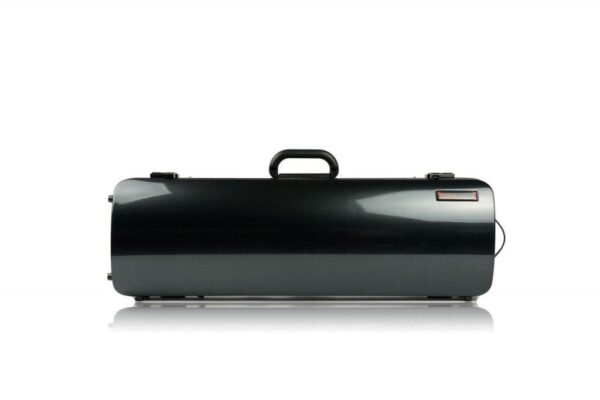 BAM Hightech Oblong Black Carbon Violin case without pocket