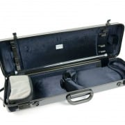BAM hightech oblong CARBON BLACK violin case (no pocket)