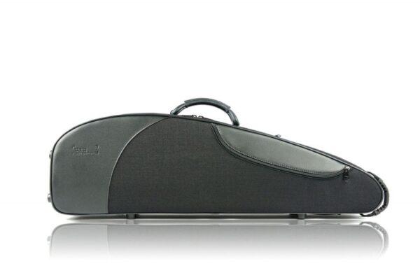 BAM classic III black violin case front