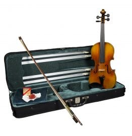 The Hidersine Veracini violin outfit is ideal for the advancing student
