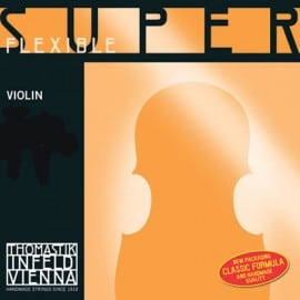 Superflexible violin D string