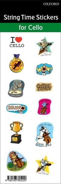 Cello time stickers