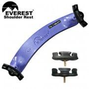 Everest Violin Shoulder rest purple