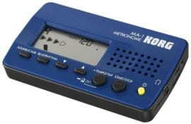 Korg MA-1 digital metronome blue