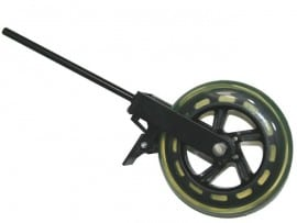 Double Bass wheel with a brake