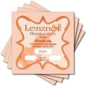 Lenzner Protos violin strings, set