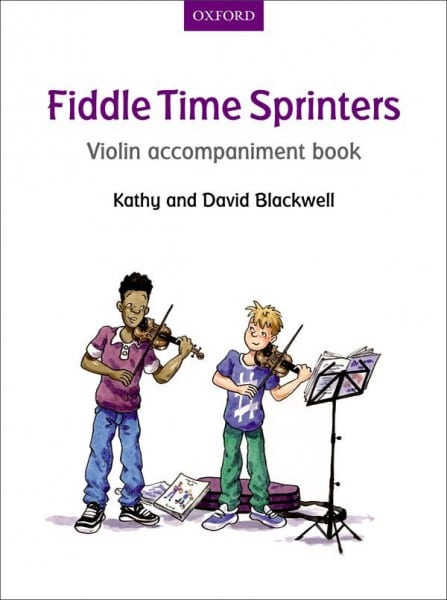 Fiddle time sprinters violin accompaniment
