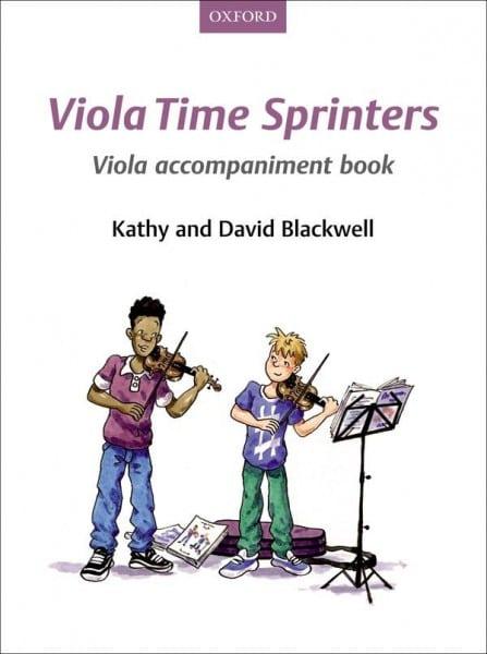 Viola Time Sprinters Viola accompaniment book