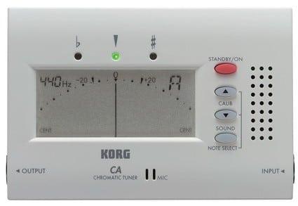 Korg CA40 chromatic tuner