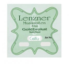 Optima (Lenzner) Goldbrokat Cello string set