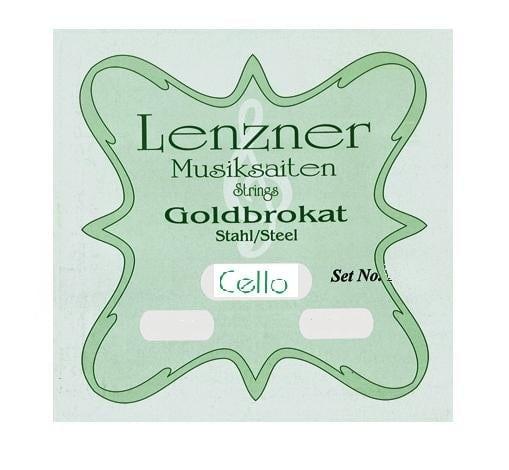 Optima (Lenzner) Goldbrokat Cello string set