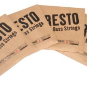 Presto Nylon Tape Wound Double Bass String Set