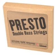 Presto Nylon Tape wound Double Bass string set packaging