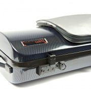 BAM hightech oblong CARBON violin case (with pocket)