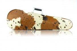 BAM Texas Hightech Contoured Cow violin case