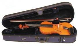 Andreas Zeller 4/4 violin outfit