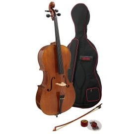 The Veracini Cello Outfit is ideal for the advancing student