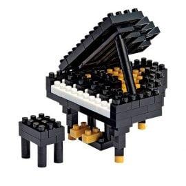 Nanoblock Grand Piano Black