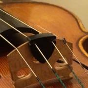 Alpine violin mute