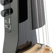 Stagg Electric Cello black bridge