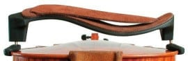 Mach One original Violin shoulder rest with leather strap