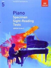 ABRSM Piano Specimen Sight Reading tests Grade 5