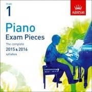 ABRSM Piano Exam Pieces 2015 & 2016, Grade 1