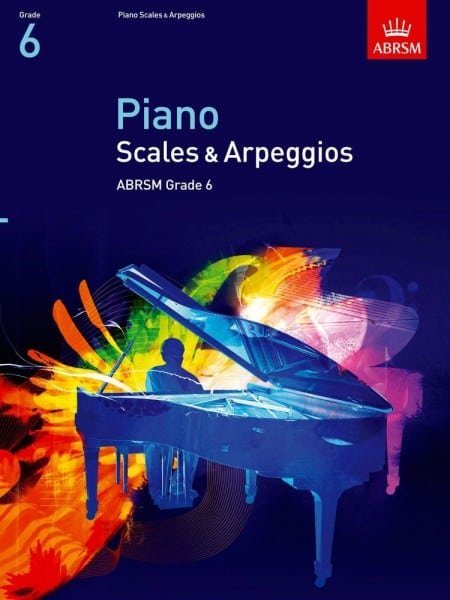 ABRSM Piano scales & Arpeggios Grade 6