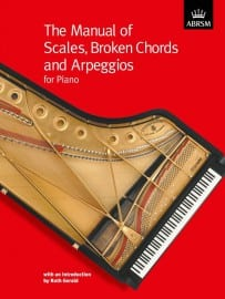 Manual of piano scales, broken chords and arpeggios