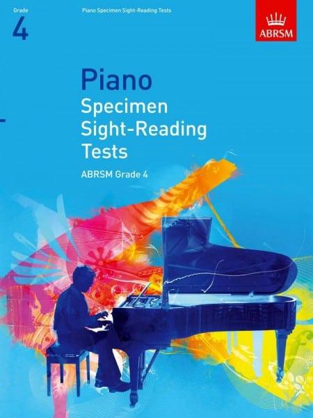 ABRSM Piano Specimen Sight Reading tests Grade 4