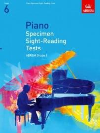 ABRSM Piano Specimen Sight Reading tests Grade 6