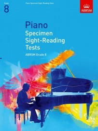 ABRSM Piano Specimen Sight Reading tests Grade 8