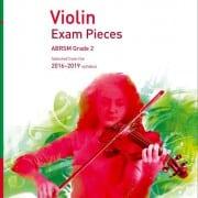 Violin grade 2 exam pieces 2016-2019, ABRSM