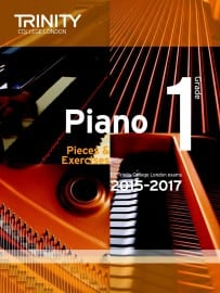 TCL Grade 1 piano exam pieces 2015-2017