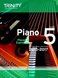 TCL Grade 5 piano exam pieces 2015-2017