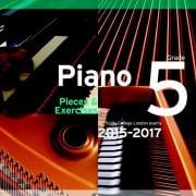 TCL Grade 5 piano exam pieces 2015-2017