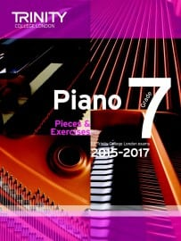 TCL Grade 7 piano exam pieces 2015-2017