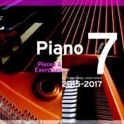 TCL Grade 7 piano exam pieces 2015-2017