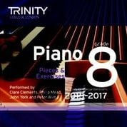 TCL Grade 8 piano exam pieces 2015-2017