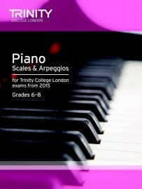 TCL piano scales & arpeggios grade 6 - 8 from 2015