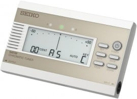Seiko SAT50 Chromatic Tuner is excellent value for money