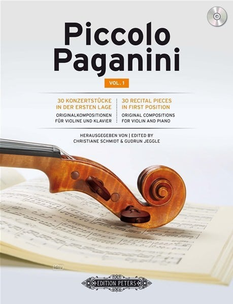 Piccolo Paganini - 30 pieces in first position