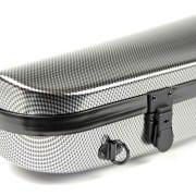 BAM Hightech contoured (Silver Carbon) violin case
