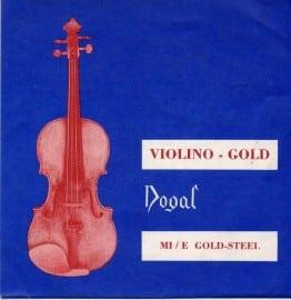 Dogal violin GOLD E string