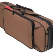 Pedi SteelShield Oblong Viola case BROWN pocket