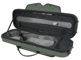 Pedi SteelShield Oblong Viola case GREEN